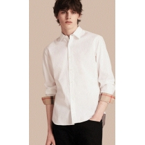 Burberry Britt Men's  Check Collar Shirt