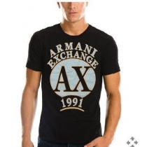 Armani Men's Tee Shirt In AX  Black