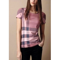 Burberry  London Check Front  T-Shirt -Women's