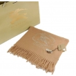Burberry Classic Solid Cashmere Scarf Carmel