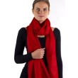 Burberry Classic Solid Cashmere Scarf Red