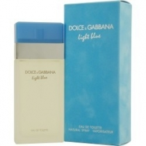 Dolice& Gabbana Light Blue Eau DeToilette Spray 3.3 oz For Women