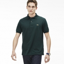 Lacoste Pique Polo Shirt  Charcoal