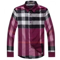 Burberry Brit Men's Cotton Exploded Check Button Down Shirt