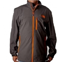 The North Face Men's Apex Bionic Jacket Gray./Orange Closeout
