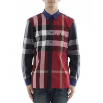 BURBERRY Burberry Men's Multicolor Cotton Shirt
