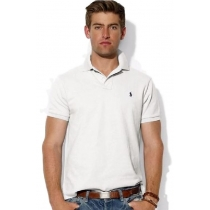 Polo Ralph Lauren  Men's Classic-Fit  Polo Shirt White