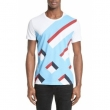 Burberry Wilmore Graphic Tee White New for 2018