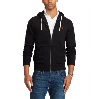 4c4ccd66468721 Polo Ralph Lauren Classic Solid Fleece Hoodie Jacket - Billsoutlets ...