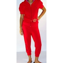 Juicy Couture Crown Capri Set Red
