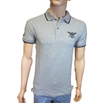 Armani Men's Polo Shirt Gray