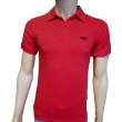 Armani Men's Polo Shirt Red