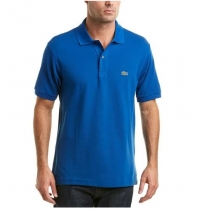 Lacoste Pique Polo Shirt  Royal Blue