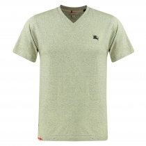 Burberry Brit Men's V Neck T- Sand Heather