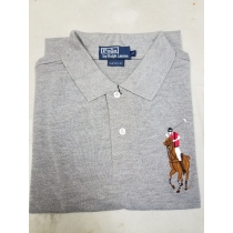Ralph Lauren Multicolor Big Pony Short Sleeve Polo Shirt Gray
