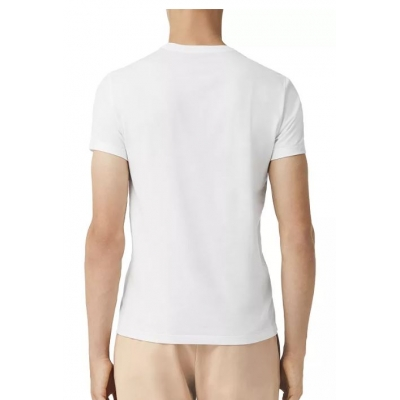 66df9b2c Burberry Men's V Neck T- Shirt White - Billsoutlets - Premier ...