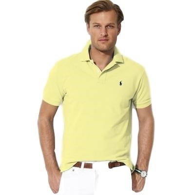 9a1d99038 Polo Ralph Lauren Men's Classic-Fit Polo Shirt Yellow - Billsoutlets ...