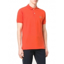 Lacoste Pique Polo Shirt  Volcanic Orange