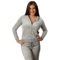 Juicy Couture  Silver Label Track Suite  Heather Gray