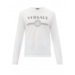Versace Men's Sustainable Logo T-Shirt