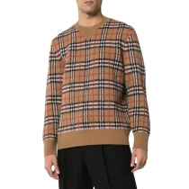 Burberry Check Jacquard Sweater
