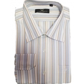 Armani Blue Men's Multicolor  Stripe