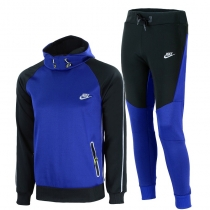 Nike Tech Men's Knit Joggers Blue