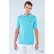 Lacoste Pique Polo Shirt  Turquoise