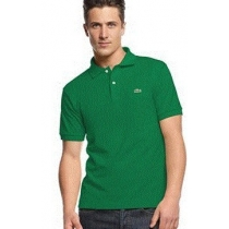 Lacoste Pique Polo Shirt  Kelly Green