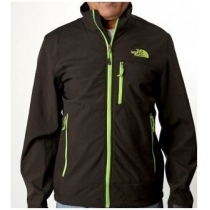 The North Face Men's Apex Bionic Jacket Black/Green Logo