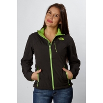 The North Face Apex Bionic Jacket Women's Black/ Kokomo Green
