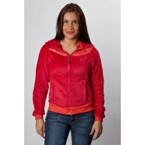The North Face Women's Oso  Hoodie Glo Rouge