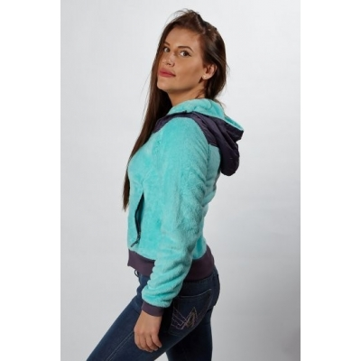 758985f5ea5f The North Face Women s Oso Hoodie Jacket Teal Clearance ...