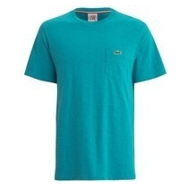 Lacoste Men's Pima Jersey Crew-Neck T-Shirt Sea Green