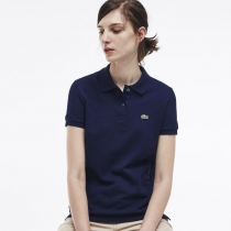 Lacoste Women's Classic Short Sleeve Polo Shirt - Navy