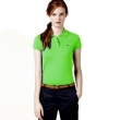 Lacoste Womens Classic Short Sleeve Polo Shirt - Lime Green