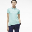 Lacoste Womens Classic Short Sleeve Polo Shirt - Mint Green