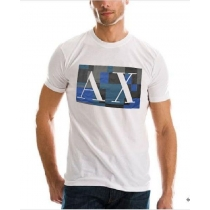 Armani Tee Shirt In AX White