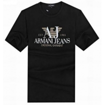 Armani Tee Shirt In Black