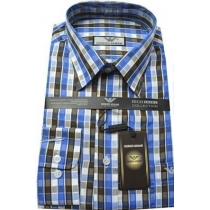 Giorgio Armani Men's Plat Button Down