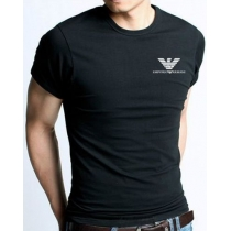 Armani Men's Crew Tee Shirt   Black