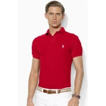Polo Ralph Lauren  Men's Classic-Fit  Polo Shirt Red