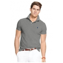 Polo Ralph Lauren  Men's Classic-Fit  Polo Shirt Heather Grey