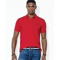 Polo Ralph Lauren Classic-Fit Mesh Polo Red