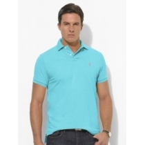 Polo Ralph Lauren  Men's Classic-Fit  Polo Shirt French Turquoise
