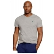 Ralph Lauren Men's  V Neck T Shirt  Gray