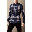 Burberry Brit  Men's Cotton Nova Check Button Down Shirt