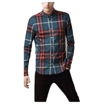Burberry Brit Men's Cotton Check Button Down Shirt