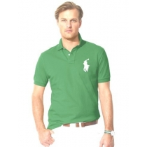 Ralph Lauren Big Pony 3 Short Sleeve Polo Shirt  Green