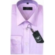 Armani Men's Solid Lavender  Cotton Button Down Shirt
